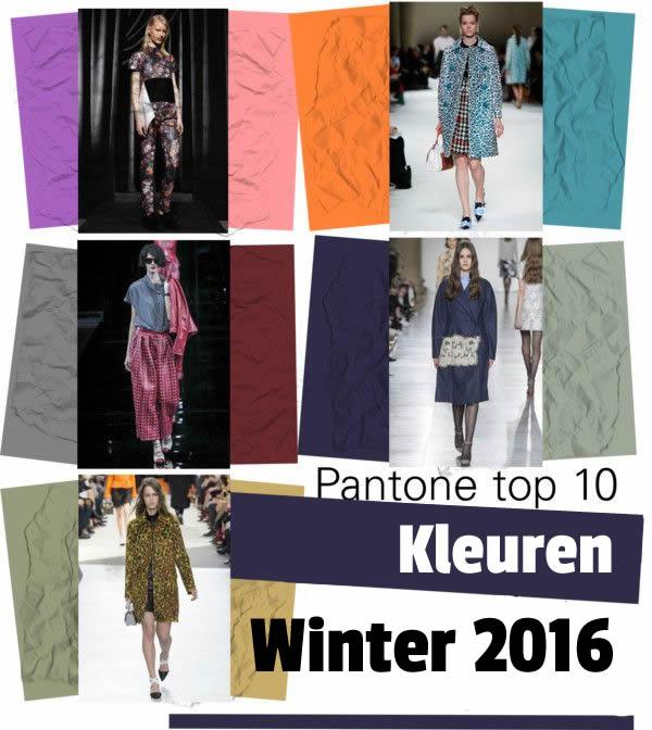 Trendy winter kleuren voor jassen 2016