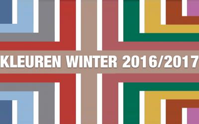 Kleuren trends najaar winter 2016 2017