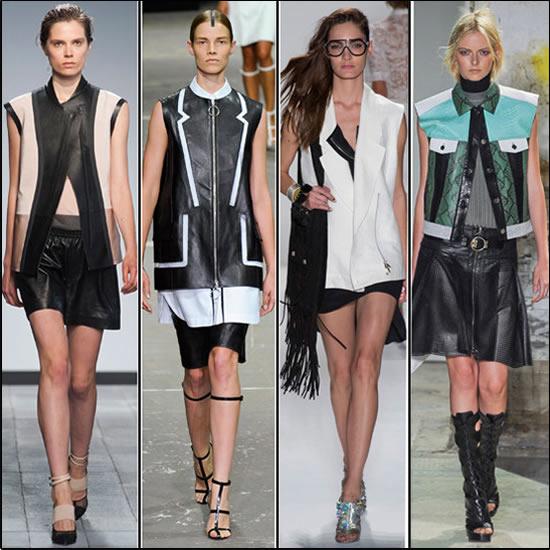 De mouwloze jas trend voor de lente 2013