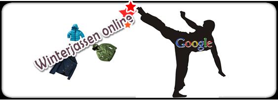 Winterjassen geplaagd door Google