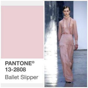 ballet slipper pantone kleur
